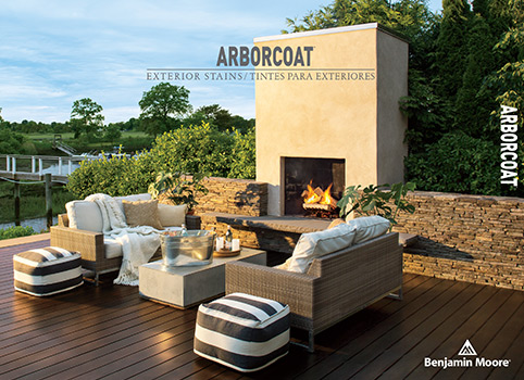 Deck in Cordovan Brown ES-62, ARBORCOAT® Exterior Stain, Semi-Solid