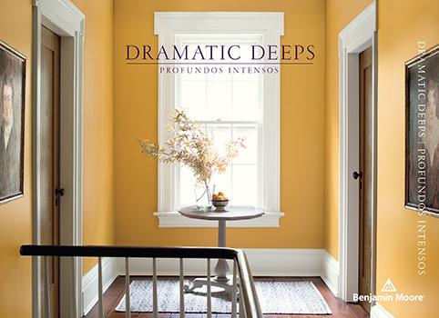 Dramatic Deeps Paint Color Brochure