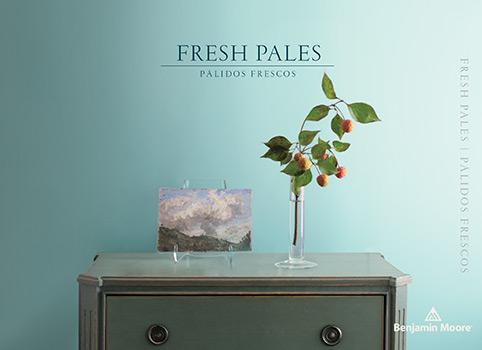 Fresh Pales Paint Color Brochure