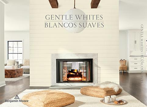 Gentle Whites Paint Color Brochure