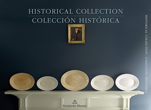 Historical Paint Color Collection Brochure