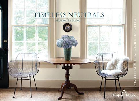 Timeless Neutrals Paint Color Brochure