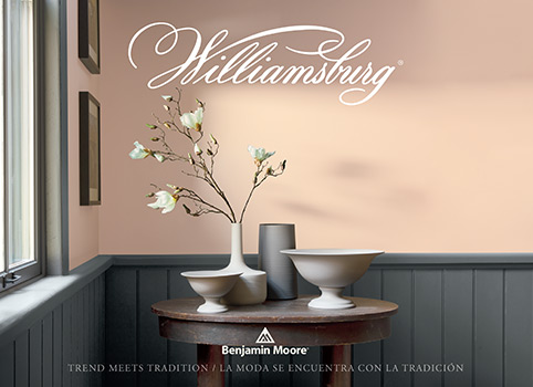 Williamsburg® Paint Color Collection Brochure